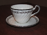 Elijah Brian & Co. Foley China Teacup & Saucer