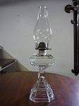 Plume & Atwood Mfg. Co Oil Lamp - Made In Waterbury, Conn. USA