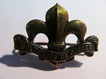 Voltigeurs De Quebec Collar Badge