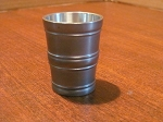 Innung Pewter Shot Cup