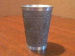 Handguss Pewter Cup