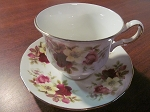 Queen Anne Teacup & Saucer