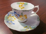 Thomas C. Wild & Sons Royal Albert Crown China Teacup & Saucer