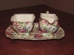 Grimwades Ltd Royal Winton Athena Creamer & Open Sugar Bowl Set