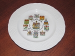 Simpsons Potters Ltd Marlborough Old English Ironstone Salad Plate