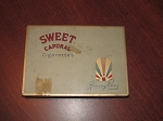 Kinney Bros Sweet Caporal Cigarette Tin